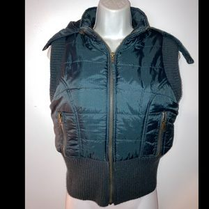 FREE PEOPLE EMERALD GREEN PUFFER VEST SMALL